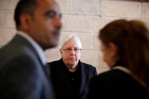 المبعوث الأممي يصل صنعاء لإجراء لقاءات جديدة بشأن الحديدة
