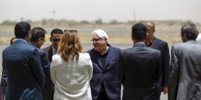 """غريفيت في  صنعاء لانتزاع تنازلات بشأن الحديدة """" خاص المشهد العربي """""""