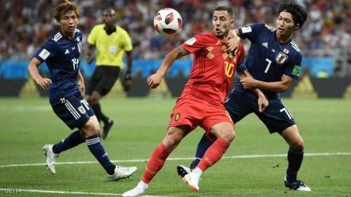 كأس العالم 2018 .. بلجيكا تقلب الطاولة في وجه اليابان بالوقت القاتل