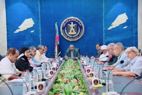 الزُبيدي يرأس اجتماعاً استثنائياً لهيئة رئاسة المجلس الانتقالي الجنوبي