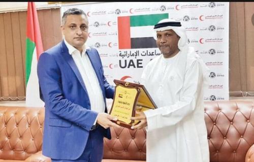 الهلال الأحمر الإماراتي يتكفل بدعم عدد من المشاريع الثقافية بعدن