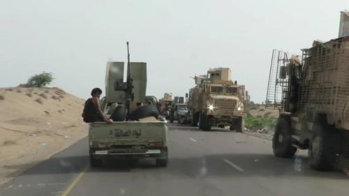"""قائد ألوية العمالقة  """" ابو زرعة المحرمي """" يؤكد سيطرة قواته على مركز مدينة التحيتا"""