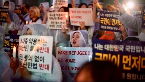 وكالة حقوق الإنسان الكورية لا يزال طالبو اللجوء اليمنيون في جيجو بحاجة إلى مساعدة طبية