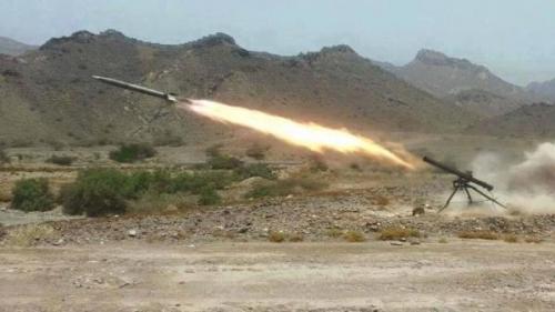 مليشيا الحوثي تقصف قرى مريس شمالي الضالع