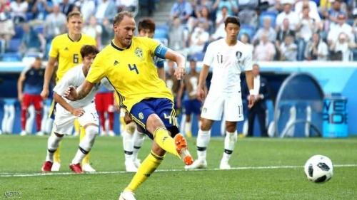 جوارب قائد السويد تكلفه 66 ألف دولار في المباراة