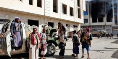ميليشيات الحوثي تقصف قرى مريس بالضالع