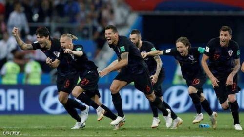 ركلات الترجيح تنهي حلم روسيا وتحمل كرواتيا إلى قبل نهائي كأس العالم 2018