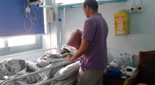 مكتب جرحى الساحل الغربي في مصر يزور المصابين بمستشفيات القاهرة