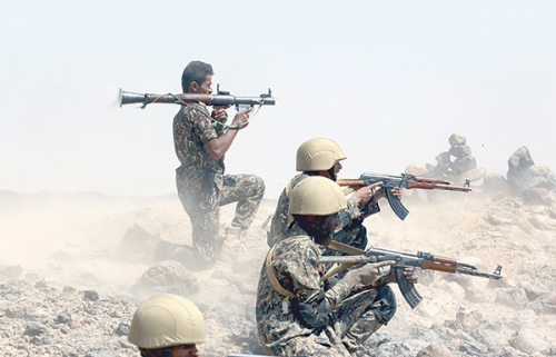 قوات الشرعية تحبط محاولات تسلل حوثية إلى المنطق التي تم تحريرها في صعدة