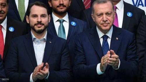أردوغان يعلن حكومته ويعين صهره وزيرا للمالية