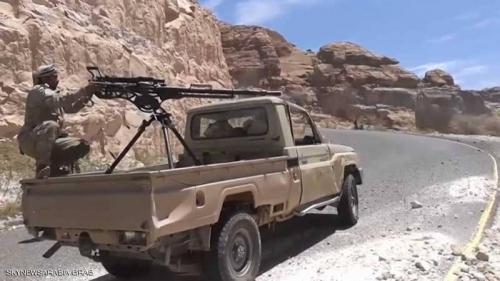 القوات المشتركة تحاصر فلول الحوثيين غربي مديرية التحيتا