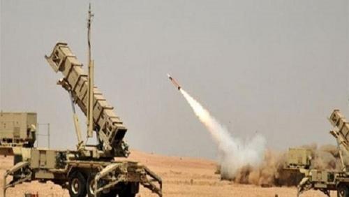 الدفاع الجوى السعودى يعترض صاروخ باليستى أطلقته ميليشيات الحوثي باتجاه جازان