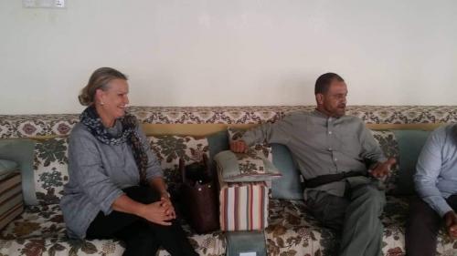 مدير أمن عدن يلتقي بالوفد الأممي  الخاص بالشؤون  الإنسانية في اليمن