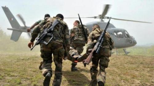 مقتل جندي فرنسي وإصابة آخر في تحطم مروحية بساحل العاج