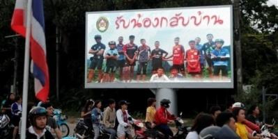 بدء تحضير فيلم هوليوودي حول أطفال الكهف التايلاندي