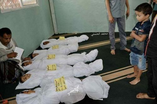 منظمة: مقتل وجرح أكثر من 70 مدنياً بتعز في يونيو الماضي برصاص وقذائف مليشيا الحوثي