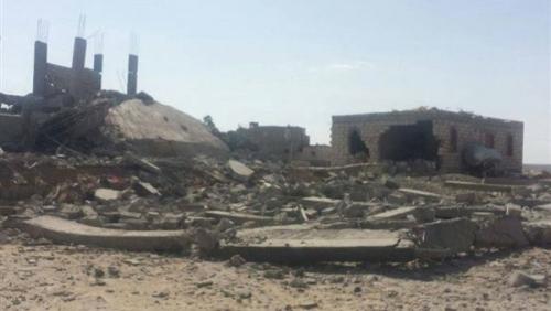ميليشيا الحوثي تفجر ثلاثه منازل في مديرية عتمه غربي مدينة ذمار