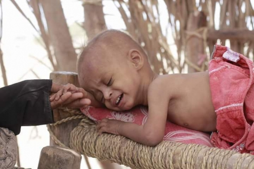 """المديرة التنفيذية لليونيسف : """"طفلا واحدا في اليمن يموت كل 10 دقائق من مرض يمكن الوقاية منه""""،"""