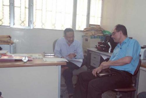 استعدادات منظمة حضرموت الصحية لعمل الخطة الاستراتيجية لدراسة واقع القطاع الصحي
