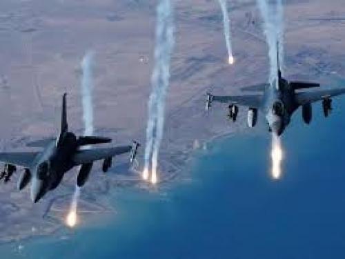 التحالف يشن 4 غارات على مواقع للمليشيا في باقم بصعدة