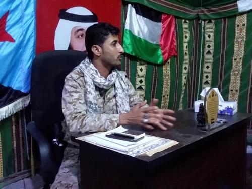 مكتب قيادة النخبة الشبوانية - محور عزان - ينفي الإشاعات التي تتحدث عن استشهاد القائد محمد  البوحر