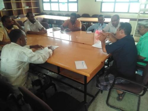 انتقالي الملاح يعقد اجتماعه الدوري ويؤيد مخرجات اجتماع الجمعية العمومية