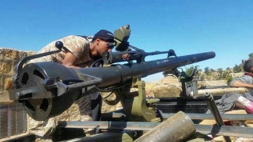 مصرع 8 من المليشيا وتدمير طقم بكمين محكم لمقاومة البيضاء