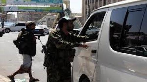 مليشيا الحوثي تنهب سيارات ومعدات ثقيلة تابعة لمديريات أمانة العاصمة