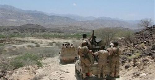 تعز.. مقتل وجرح العشرات من مليشيات الحوثي  بالصلو