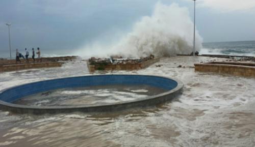 الارصاد يحذر مرتادي البحر والصيادين في حضرموت