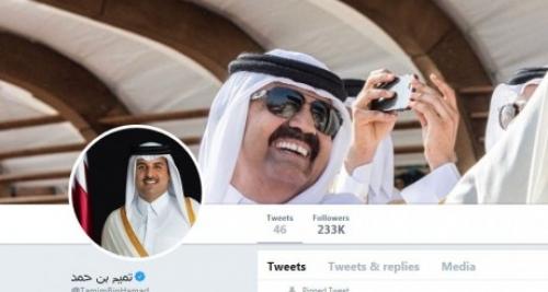 مليون و700 ألف متابع وهمي لحساب أمير قطر على تويتر