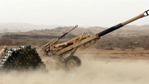 قوات الشرعية تقصف مواقع الحوثيين في «مران»