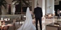 الصور الأولى لحفل زفاف الداعية معز مسعود وشيري عادل