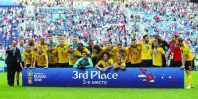 شاهد فيديو ملخص مباراة انجلترا وبلجيكا  HD تعليق رؤوف خليف