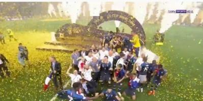 شاهد بالفيديو ملخص  نهائي كاس العالم فرنسا وكرواتيا 4-2
