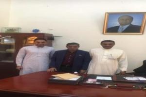 محافظ حضرموت يستقبل رئيس مجموعة مكة الاستثمارية ويؤكد دعم المحافظة للمستثمرين الجادين