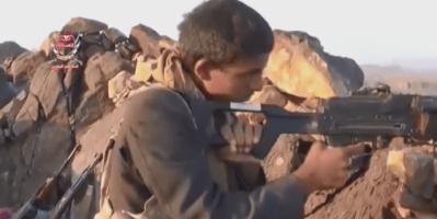 """ألوية العمالقة تعثر على """"كاميرا إعلام"""" مليشيات الحوثي"""