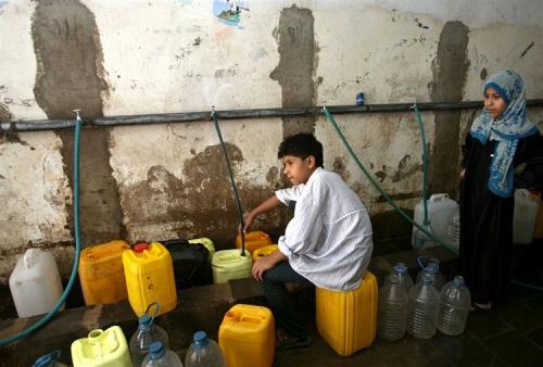 يونيسف: 16 مليون يمني يفتقرون للمياه الصالحة للشرب