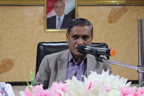 المحافظ البحسني يترأس الاجتماع الرابع للمكتب التنفيذي لساحل حضرموت لعام 2018م