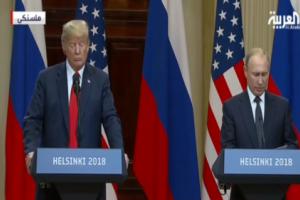ترامب : أكدت في قمة هلسنكي أهمية الضغط على إيران