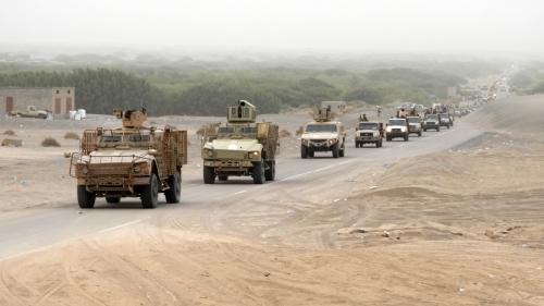 تعزيزات الشرعية تتواصل لحسم معركة الحديدة