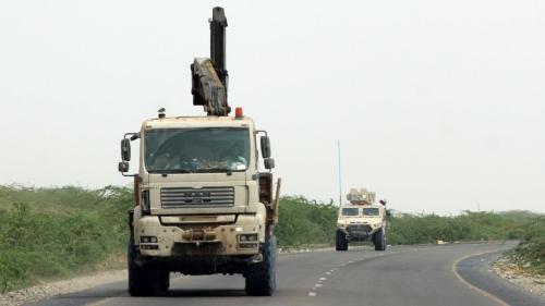 قوات الشرعية تقتحم مديرية عبس في محافظة حجة