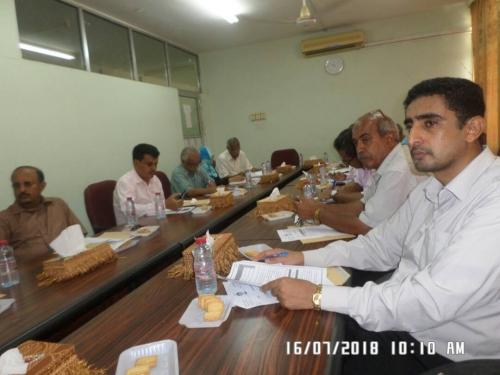 مجلس شؤون الطلاب بجامعة عدن يعقد اجتماعه الدوري للوقوف أمام العديد من القضايا الطلابية