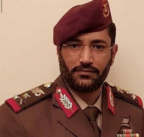 استشهاد العميد الركن محمد محمد صالح الأحمر