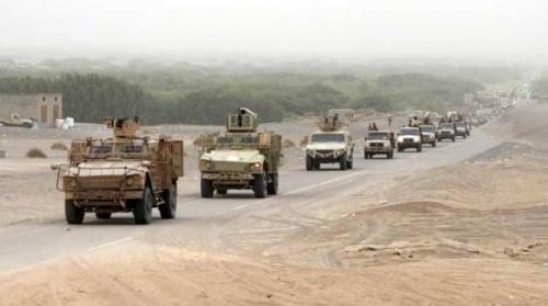 القوات المشتركة تستعد لمعركة زبيد بقصف مليشيا الحوثي بالتحيتا