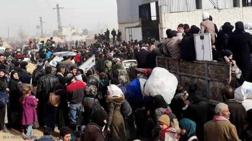 سوريا .. بدء عمليات الإجلاء من بلدتي الفوعة وكفريا