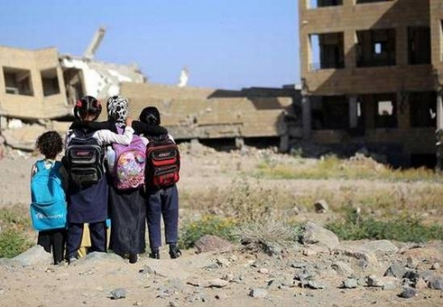 «يونيسيف» تعلن عن تأهيل 131 مدرسة في اليمن