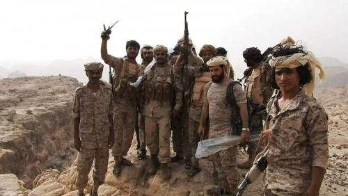 قوات الشرعية تسيطر على سد باقم وجبال العبد في صعدة