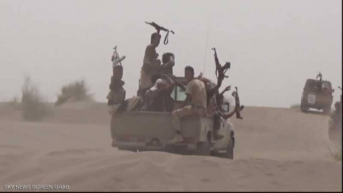 إفشال عملية تسلل للحوثيين.. والمتمردون يردون بقصف المدنيين