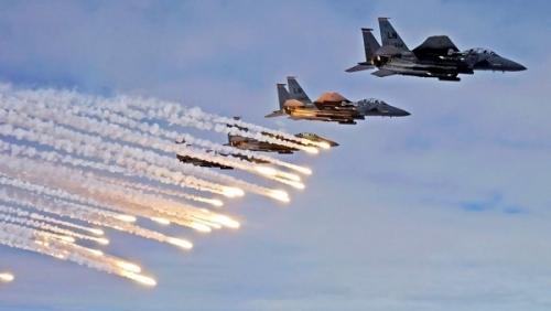 الحديدة : مقاتلات التحالف تستهدف مواقع للميليشيا في الدريهمي